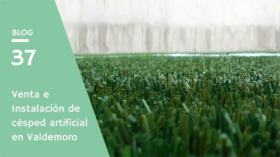 Venta e Instalación de césped artificial en Valdemoro