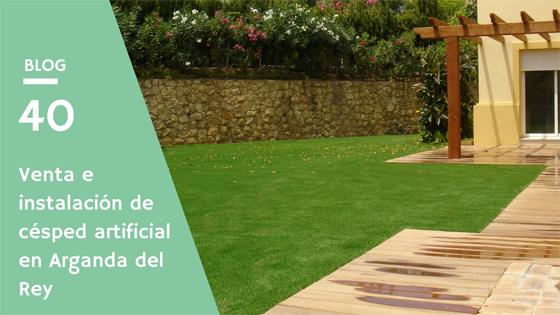 Venta e instalación de césped artificial en Arganda del Rey