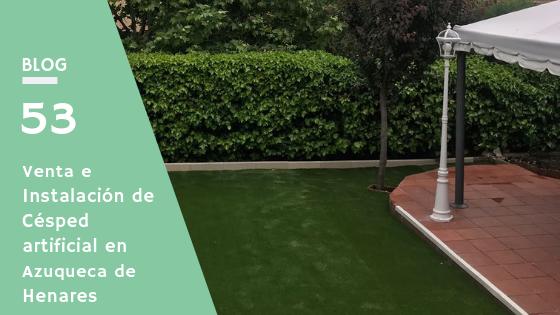 venta e instalación de césped artificial en Azuqueca de Henares