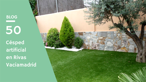 instalación de césped artificial en Rivas Vaciamadrid