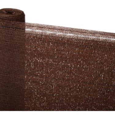 Malla Ocultación color marrón