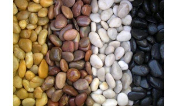 Piedra natural canto rodado para jardín