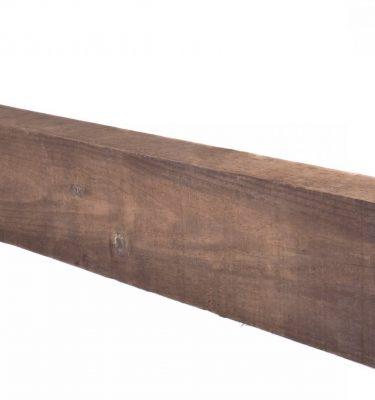 Traviesa de madera ecológica para jardín