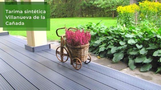 Venta e Instalación de tarima exterior sintética en Villanueva de la Cañada